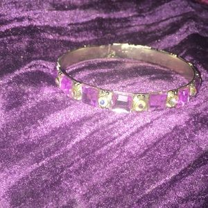 Jewelry - Pink Rhinestone Bangle Sparkly